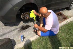 Cleaning Brake Rotors at Home