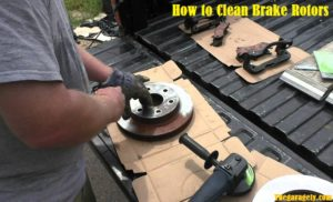 How to Clean Brake Rotors