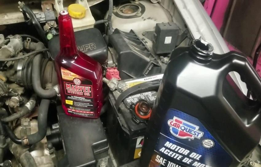 Way to engine flush