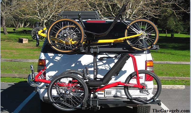 Car Hatch Bicycle Carriers