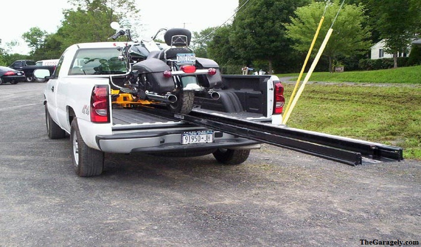 To Tie Down A Motorcycle In A Truck Bed