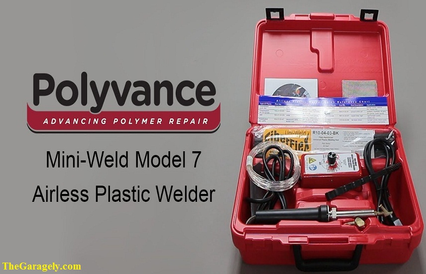 Polyvance 5700HT Mini-Weld Model 7 Airless Plastic Welder