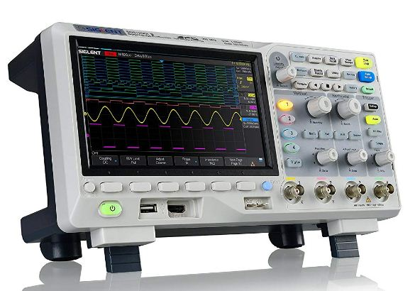 Siglent SDS1104X-E 100Mhz digital oscilloscope