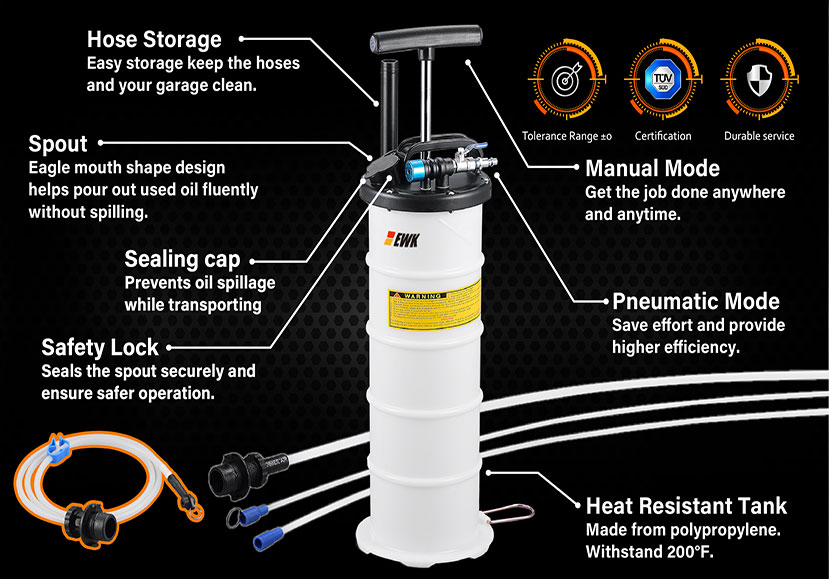 how to use oil extractor
